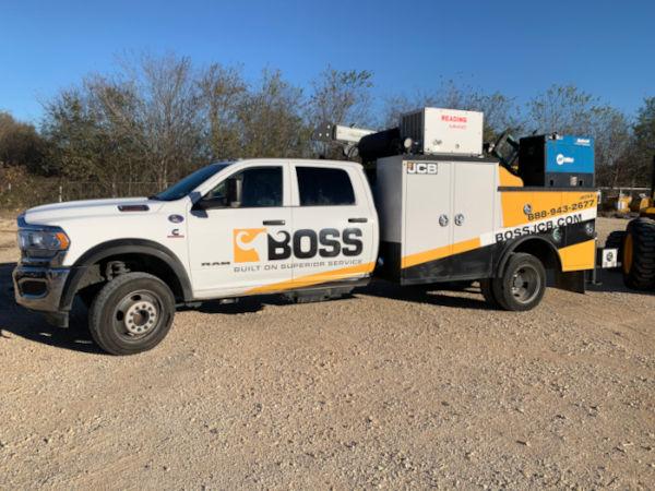 Boss Service Truck